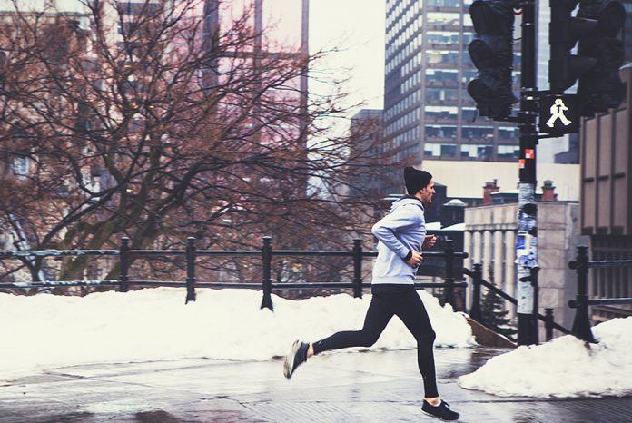 prečo behať v zime